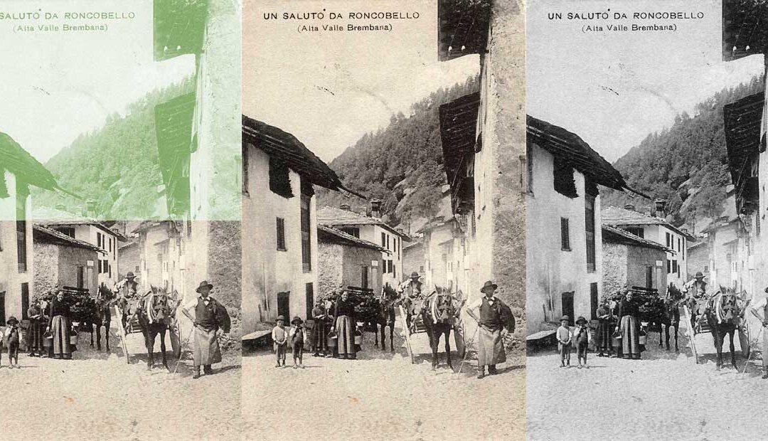 La Valle Brembana nelle vecchie cartoline raccolte da Giordano Rota