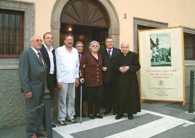 Inaugurazione 38 Comuni... una Valle - Visti nelle vecchie cartoline di Giordano Rota