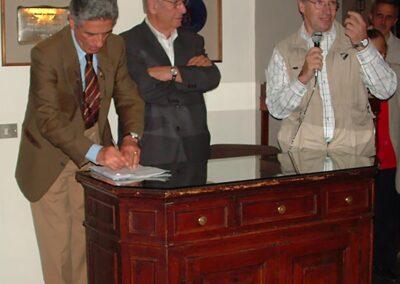 Franco Prida presenta la sua mostra - Foto Piero Gritti www.pieroweb.com