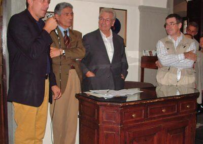 Interviene il dottore Silvano Gherardi, assessore al Turismo della C.M.V.B - Foto Piero Gritti www.pieroweb.com