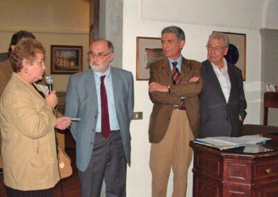 In rappresentanza del sindaco di Zogno interviene il consigliere comunale Angioletta Fustinoni - Foto Piero Gritti www.pieroweb.com