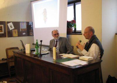 """Matteo Ghisalberti intento a presentare """"Apnea"""" - foto Pietro Gritti - www.pieroweb.com"""