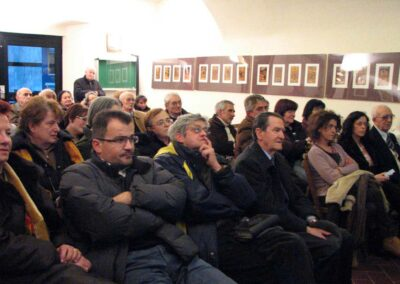 Parte del pubblico presente - foto Pietro Gritti - www.museo della Valle - www.pieroweb.com