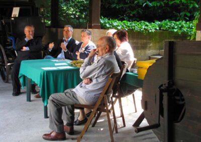 La parola al Dirigente Scolastico Claudio Gotti - foto Pietro Gritti - www.museo della Valle - www.pieroweb.com