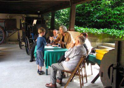 Un momento della premiazione - foto Pietro Gritti - www.museo della Valle - www.pieroweb.com