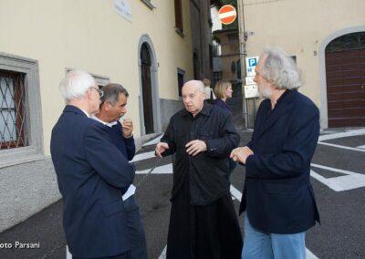 ...con Don Giulio Gabanelli e Franco Travi