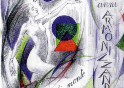 logo 60° del Coro 'Fior di Monte' di Zogno
