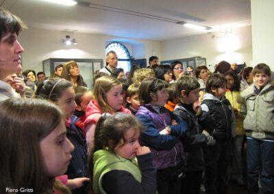 Molti alunni in attesa del responso della giuria