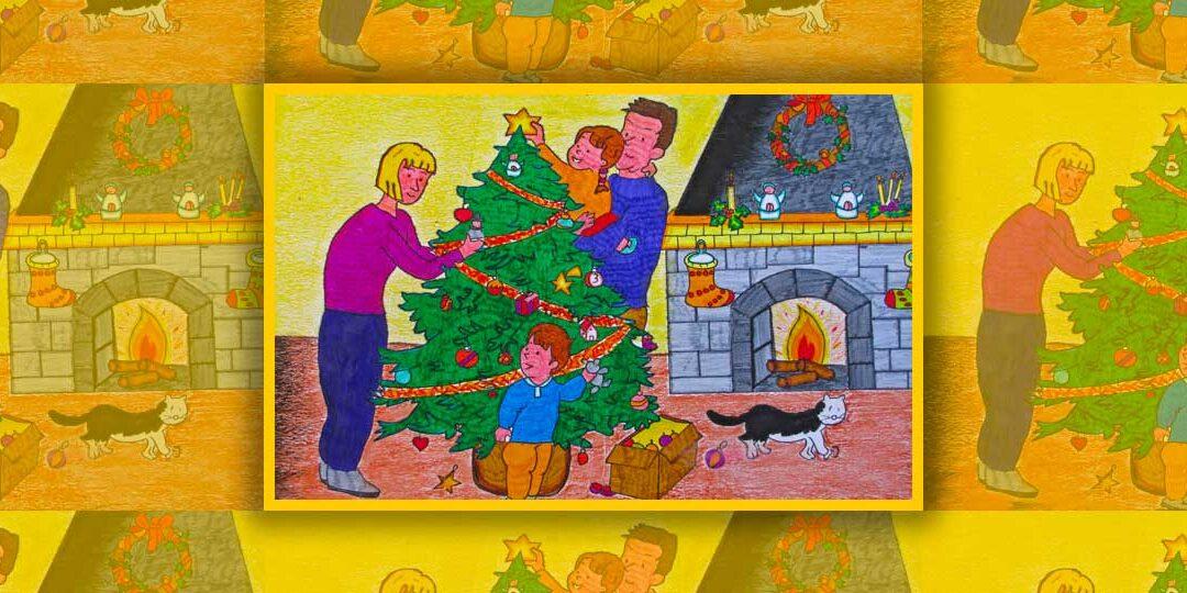 XXVI Concorso disegni \ Dicembre: da sempre mese di attese, di doni, di luci, di gioia…