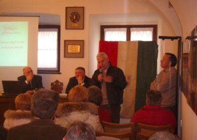 Da sx Ivano Sonzogni, Pierluigi Viviani, Tarcisio Bottani, Marconi Bruno