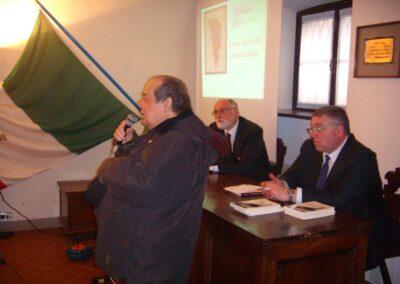 Angelo Curnis, Assessore alla Cultura del Comune di Zogno, Pierluigi Viviani