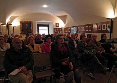 Il pubblico presente nella Sala delle conferenze