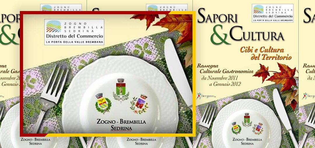 SAPORI E CULTURA - COVER