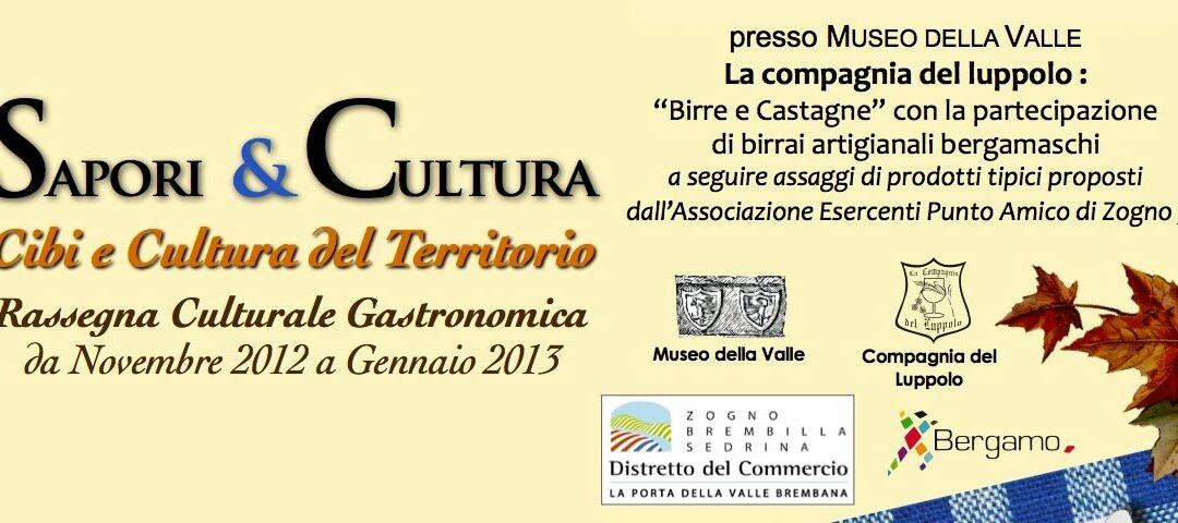 Sapori & Cultura INVITO 2012 - cover