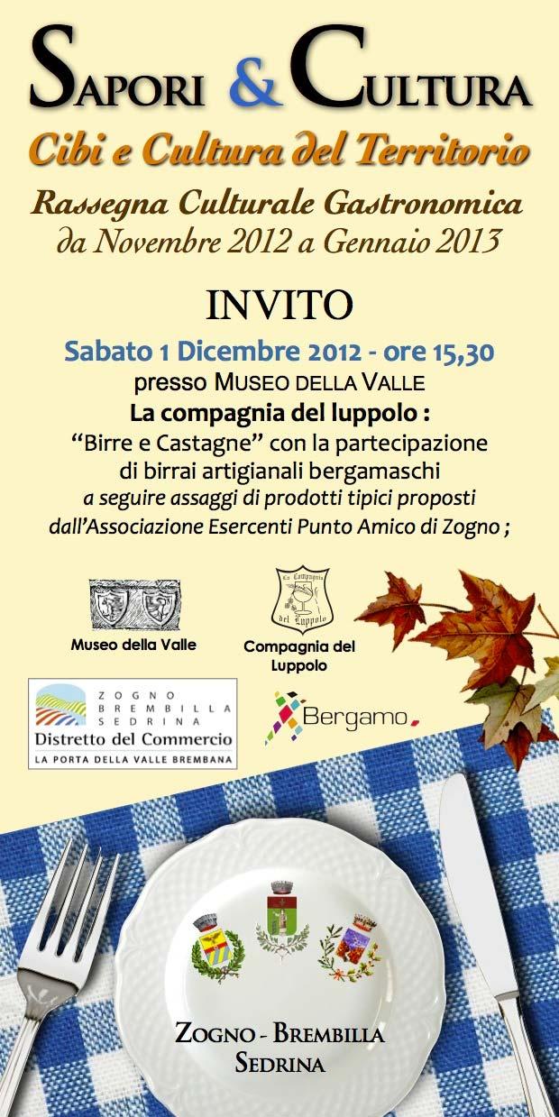 Sapori & Cultura INVITO 2012
