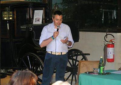 Conferenza del comm. Umberto Zanetti con letture di Aide Bosio su GIOVANNI PASCOLI