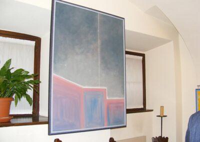 Un salto nel blu - Mostra di pittura di Marco Damiani
