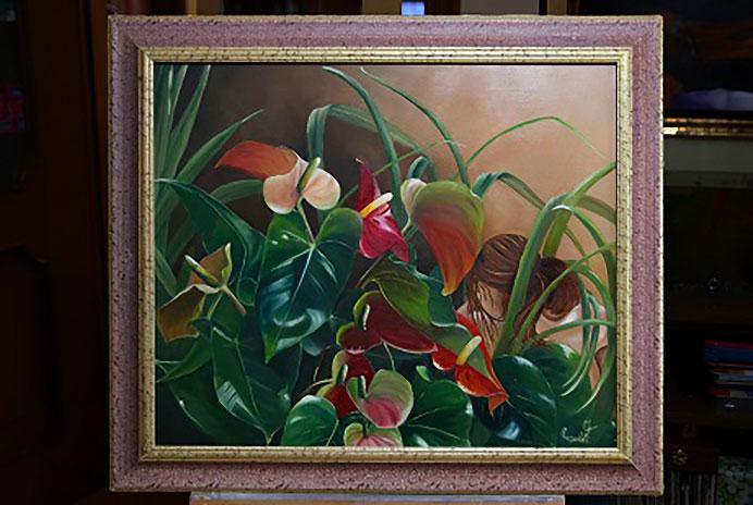 LUMINESCENZE Mostra di pittura di Franca Rinaldi TU E IO