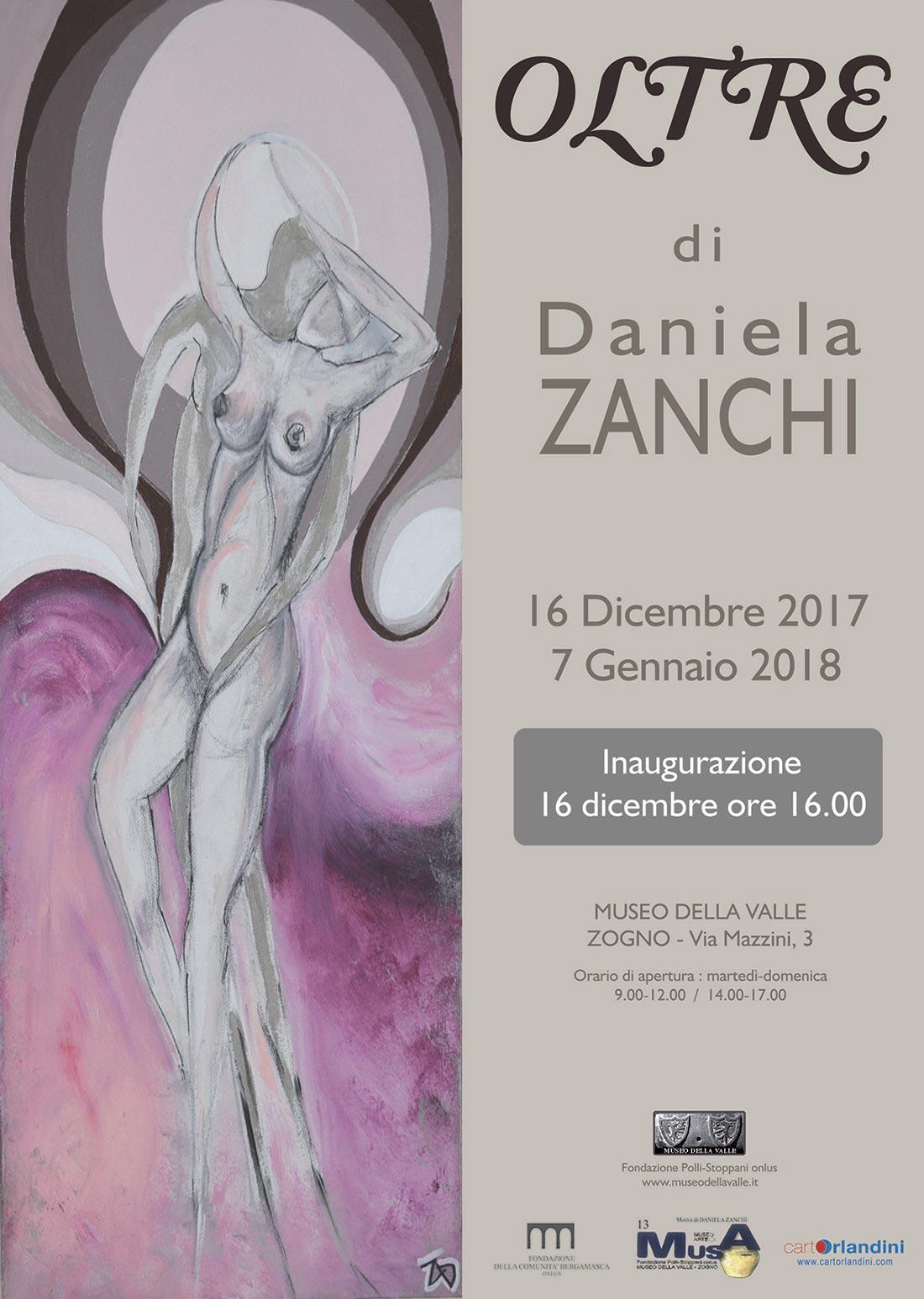 OLTRE Mostra di pittura di Daniela Zanchi