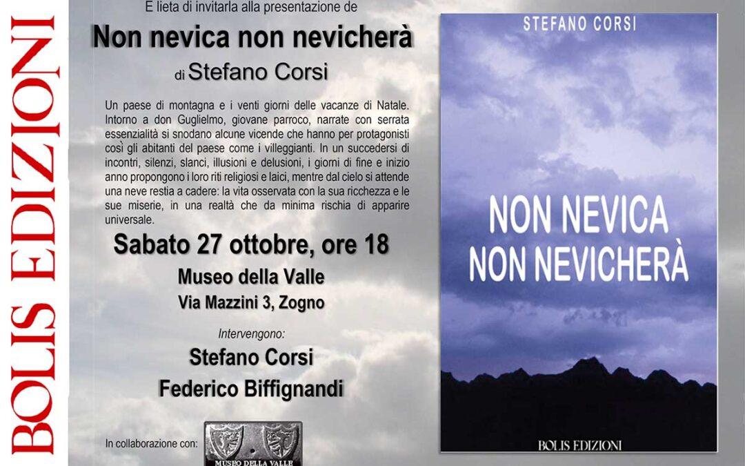 MUSEO DELLA VALLE Fondazione Polli-Stoppani - Zogno (Bergamo) - Non nevica non nevicherà - Libro di Stefano Corsi - COVER