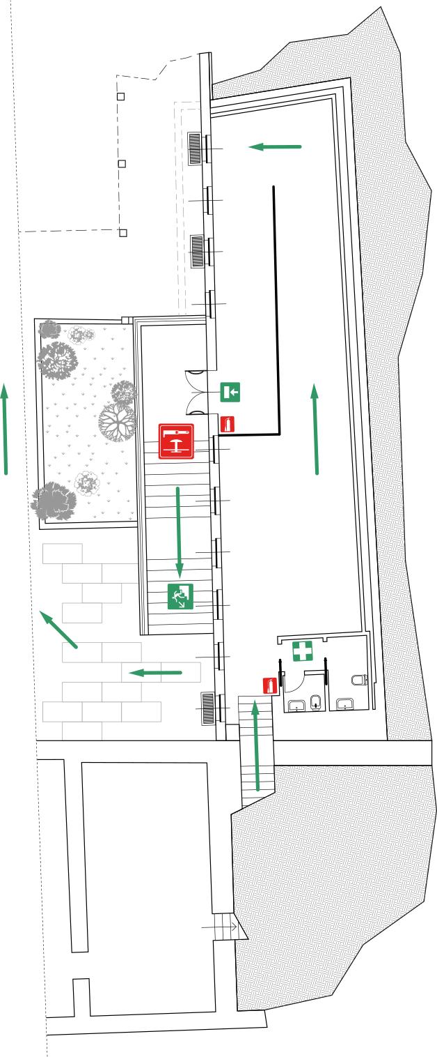 MUSEO DELLA VALLE Fondazione Polli-Stoppani - Zogno (Bergamo) - Planimetria Piano Interrato