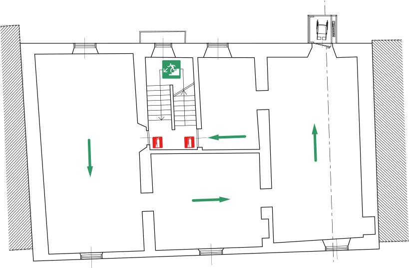 MUSEO DELLA VALLE Fondazione Polli-Stoppani - Zogno (Bergamo) - Planimetria Piano Secondo