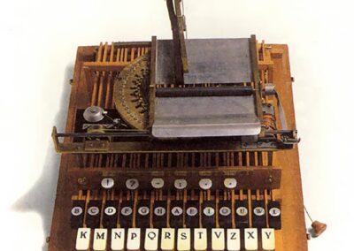 CEMBALO Scrivano G - Ravizza - Italia 1855 - Nascita ed evoluzione della macchina per scrivere