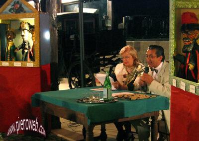 Il dialogo faceto con U. Zanetti e Stefania Careddu