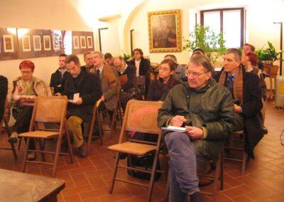 """I partecipanti al primo incontro """"Progetto inizio Novecento"""" del Centro Storico Culturale Valle Brembana"""