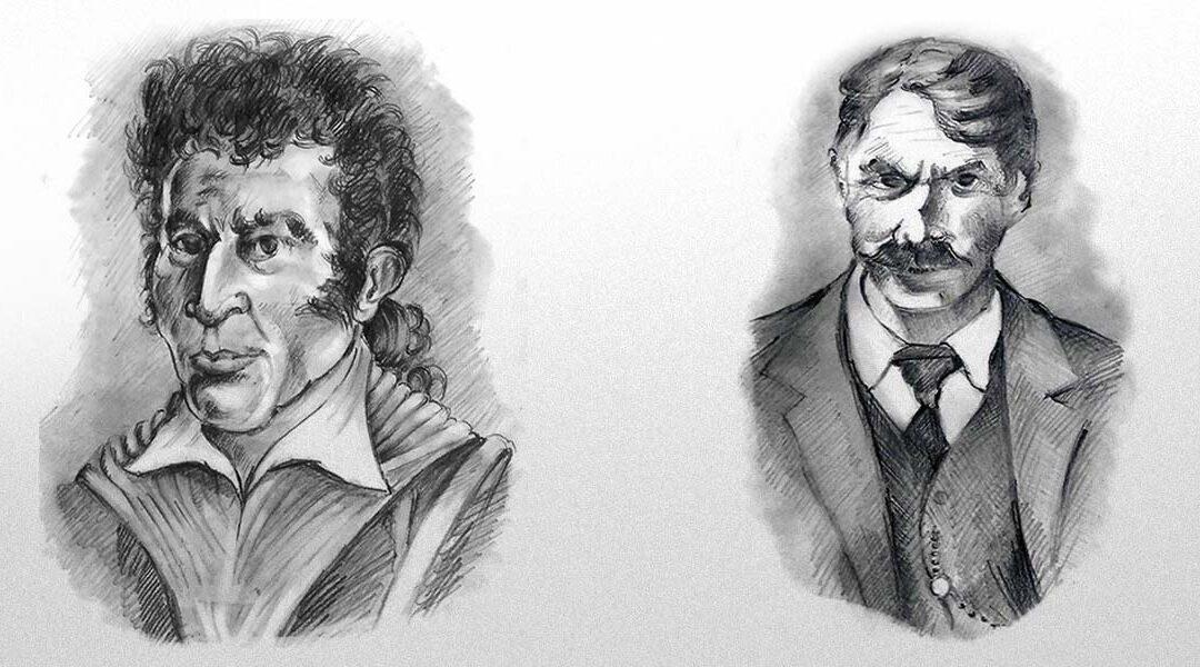 Vincenzo Pacchiana e Simone Pianetti, due famosi banditi brembani