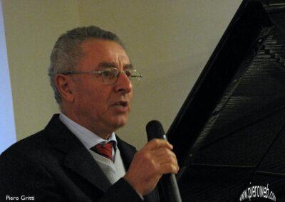 Giovanni Pelliccioli saluta i presenti