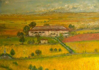 Orio al-Serio 1939 - olio su tela
