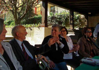 Presente il veterano maestro Virginio Mazzola