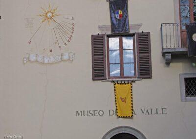 Facciata interna al cortille del Museo