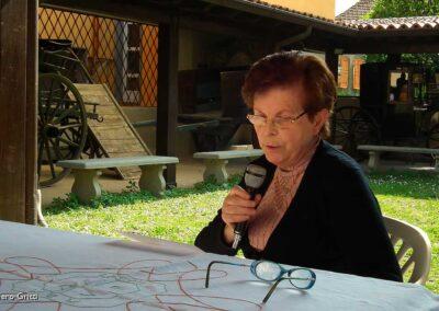 Lidia Barcella ricorda la casa natale di Orio al Serio