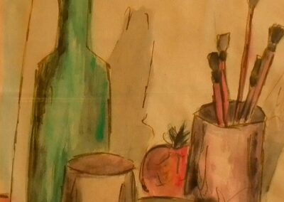 Composizione (opera di Maria Pia Chiesa) - acquerello