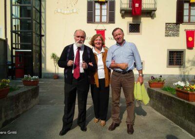 Candida con Ivano Sonzognie Bruno Marconi