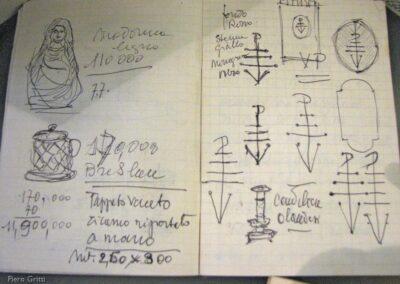 Appunti-disegni candelieri