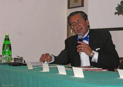 L'autore della pubblicazione, Vittorio Polli