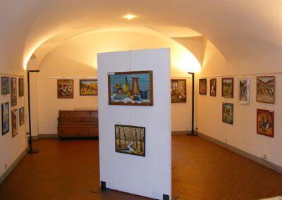 I quadri esposti