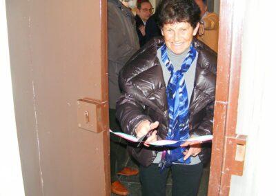 La Signora Oprandi inaugura la mostra