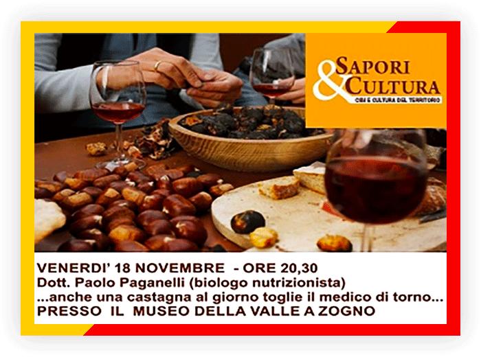 Terzo incontro Sapori & Cultura - Dott.-Paganelli