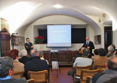 Nella sala conferenze del Museo della Valle - foto Pietro Gritti - www.museo della Valle - www.pieroweb.com