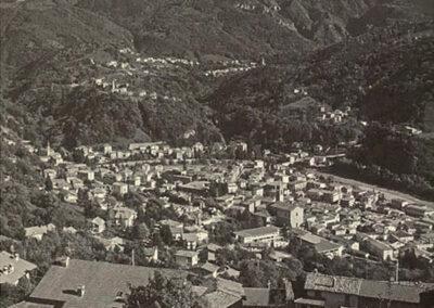 Zogno, vista dalla Cornèla