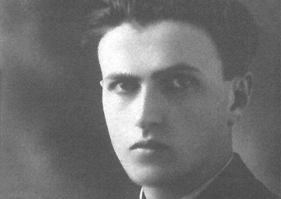 Foto giovanile di Gianandrea Gavazzeni (Archivio Gavazzeni)