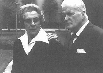 Mariuccia Polli e Gianandrea Gavazzeni (Central Park - New York 1987) (Archivio Gavazzeni)
