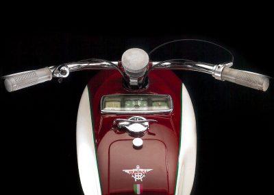 Moto RUMI - BICARBURATORE SS (Supersport) ESPORTAZIONE 1953-1956