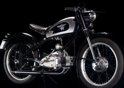 Moto RUMI - TURISMO TRE MARCE prima serie 1950-1953